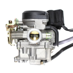 Chinese 139QMB Carburetor - Electric Choke - Version 9 - GY6 50cc - VMC Chinese Parts