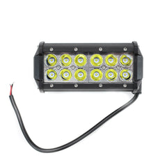 "Off Road ATV UTV Go-Kart Light 36 Watt CREE 12 LED Lamp 7"" - VMC Chinese Parts"