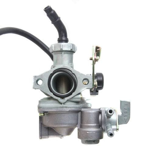 Chinese ATV PZ22J Carburetor with CABLE CHOKE - Version 20 - 89cc