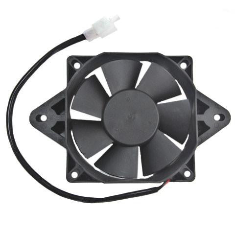 Radiator Cooling Fan for Water Cooled 200cc, 250cc ATVs, Go-Karts - Version 3