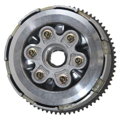 Clutch Assembly - 6 Plate - 6 Bolt - 70 Tooth - CG 200cc 250cc - ATV Dirt Bike - Version 64