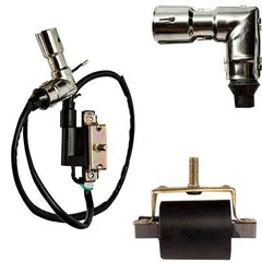 Ignition Coil 50cc-125cc with Metal Spark Plug Cap - Version 2 - VMC Chinese Parts