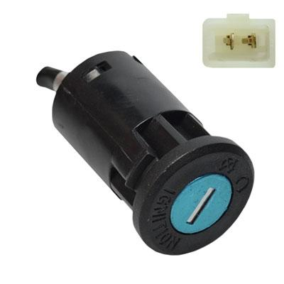 2 wire ignition key switch for taotao electric atvs e1 350. Black Bedroom Furniture Sets. Home Design Ideas
