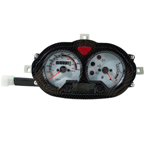 Instrument Cluster / Speedometer for Scooter YYB915021001 GY6 125cc 152QMI 157QMI
