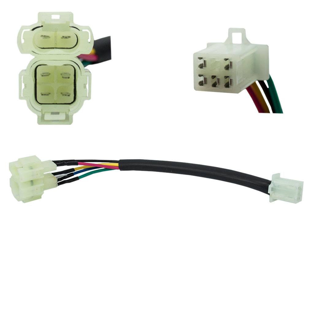 Jumper Wire 5-pin CDI to 6-pin CDI Honda style plug | VMC Chinese Parts