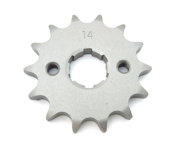 Front Sprocket 428-14 Tooth - Honda - [K22-2508] Parts Unlimited - VMC Chinese Parts