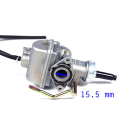 Chinese PZ16 Carburetor - Hand Choke - Version 19 - Kazuma 50cc - 110cc - VMC Chinese Parts
