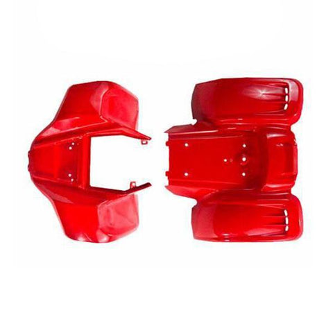 Body Fender Kit for Chinese ATV - Kazuma Meerkat Wombat - RED
