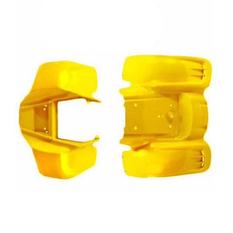 Body Fender Kit for Chinese ATV - Kazuma Meerkat Wombat - YELLOW