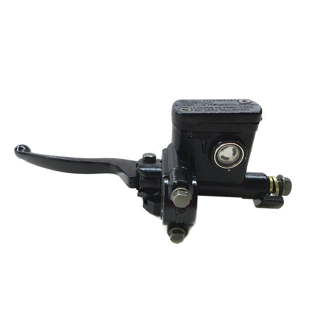 Chinese ATV Handlebar Brake Master Cylinder with Lever Left Side Without E-brake - VMC Chinese Parts