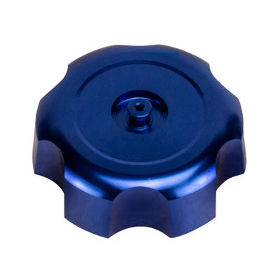 Gas Tank Cap - 40mm - Metal - BLUE - Version 49