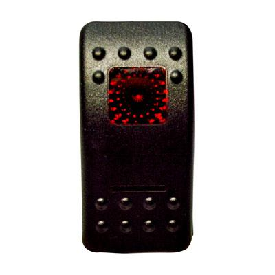 Universal Rocker Switch - RED - [2106-0413] Moose Utility