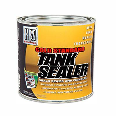 KBS Coatings Gold Standard Cycle Fuel Gas Tank Sealer - 8 oz. - [5200]