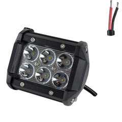 "Off Road ATV UTV Go-Kart Light 18 Watt CREE 6 LED Lamp 4"" - VMC Chinese Parts"