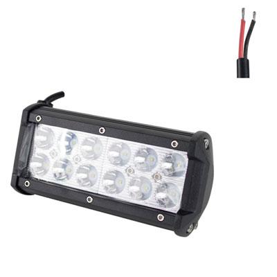 Off Road ATV UTV Go-Kart Light 36 Watt CREE 12 LED Lamp 7