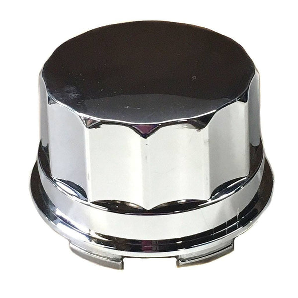 Wheel Dust Cover - Chrome - Hub Cap 150cc - 500cc - VMC Chinese Parts