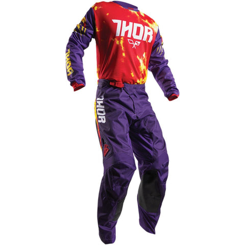 Thor Youth Pulse TieDye Pants - Buy Pants - Get Matching Jersey & Gloves FREE