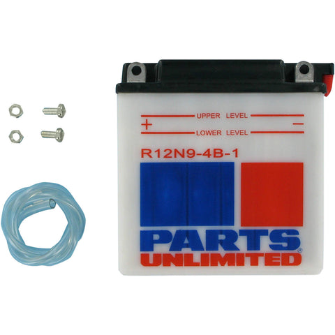 12 Volt 12N9-4B-1 Conventional Battery - [R12N9-4B-1] Parts Unlimited