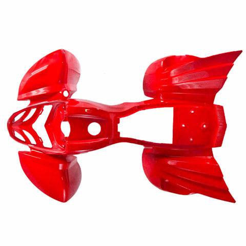 Body Fender Kit for Chinese ATV - Kazuma Mini Falcon - RED