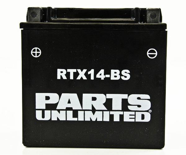Battery 12Ah 12 Volt AGM Maintenance Free - YTX14-BS - [RTX14-BS] - VMC Chinese Parts