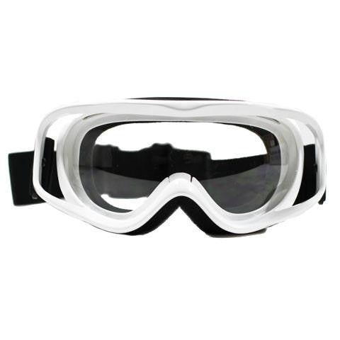 Off-Road Racing Goggle - White