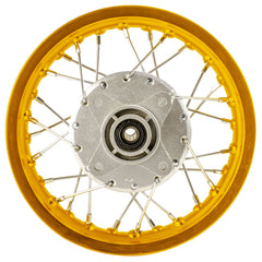 "Rear 10"" x 1.4"" Dirt Bike Rim Wheel with Drum Brake - Honda XR50 CRF50 - Version 1051 - VMC Chinese Parts"