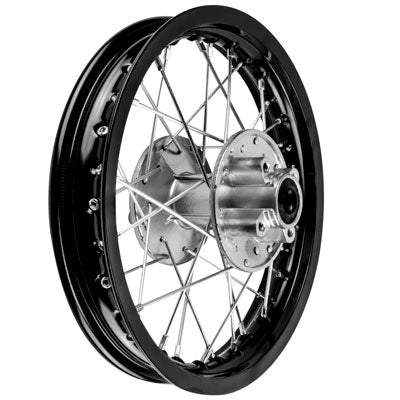 "Rim Wheel - Rear - 12"" x 1.6"" - 12mm ID - 32 Spokes - Chinese Dirt Bike - Version 1263 - VMC Chinese Parts"