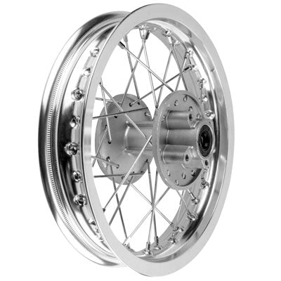 "Rim Wheel - Rear - 12"" x 1.85"" - 12mm ID - 32 Spokes - Chinese Dirt Bike - Version 1267 - VMC Chinese Parts"
