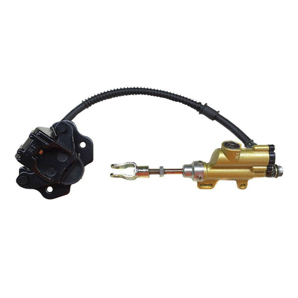 Rear ATV Brake Caliper & Master Cylinder Assembly - Version 27 - VMC Chinese Parts
