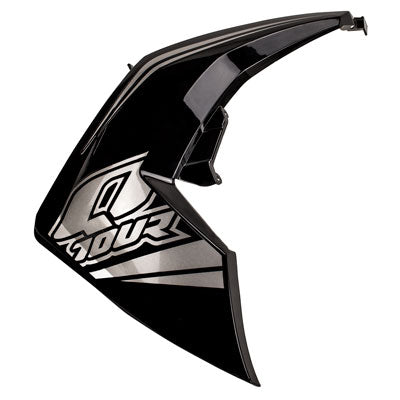 Right Front Side Panel for Taotao Quantum 150 Scooter -Black with Silver
