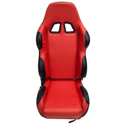 Seat for Go-Kart or Buggy 150cc - 250cc RED/BLACK - Version 6