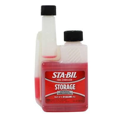 STA-BIL Fuel Stabilizer  8-oz. Easy Pour Bottle - VMC Chinese Parts