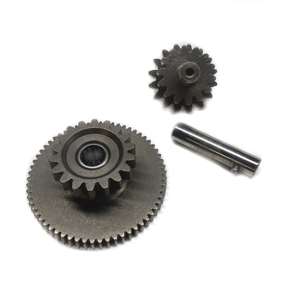 Starter Idler - Reduction Gear Assembly - 200cc CG Engine 18 Tooth - VMC Chinese Parts