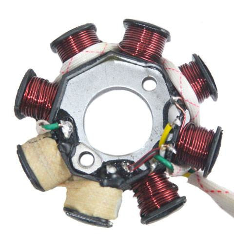 Chinese Stator Magneto - 8 Coil - Version 15 - GY6 50cc - VMC Chinese Parts