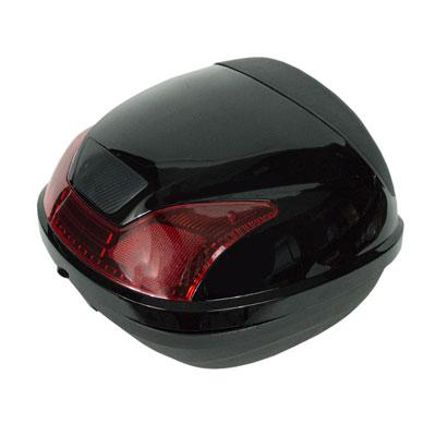 Trunk / Luggage Compartment - Large - for 150cc Scooters BLACK