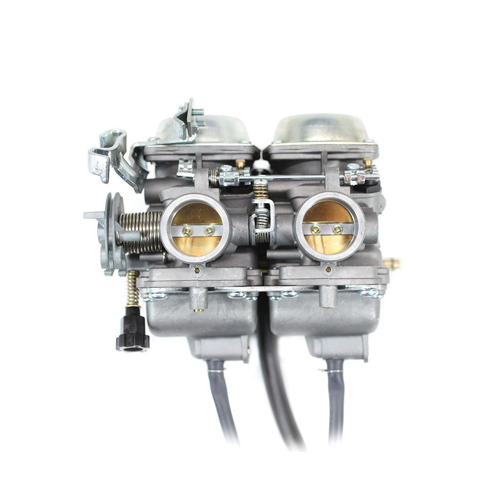 V Twin Quad Engine: Chinese ATV Carburetor Twin Cylinder 250cc Cable Choke