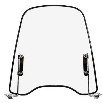 "Universal Scooter Windshield 18"" H x 16.5"" W - VMC Chinese Parts"