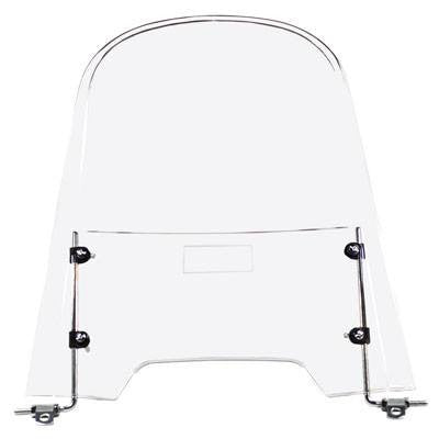 "Universal Scooter Windshield 19"" H x 18"" W - VMC Chinese Parts"