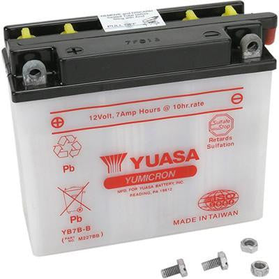 Battery 7Ah 12 Volt Yuasa Powersports & Specialty - [YB7B-B] - VMC Chinese Parts