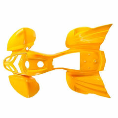 Chinese Kazuma Mini Falcon ATV Fender Nose Grill Kit Yellow - VMC Chinese Parts