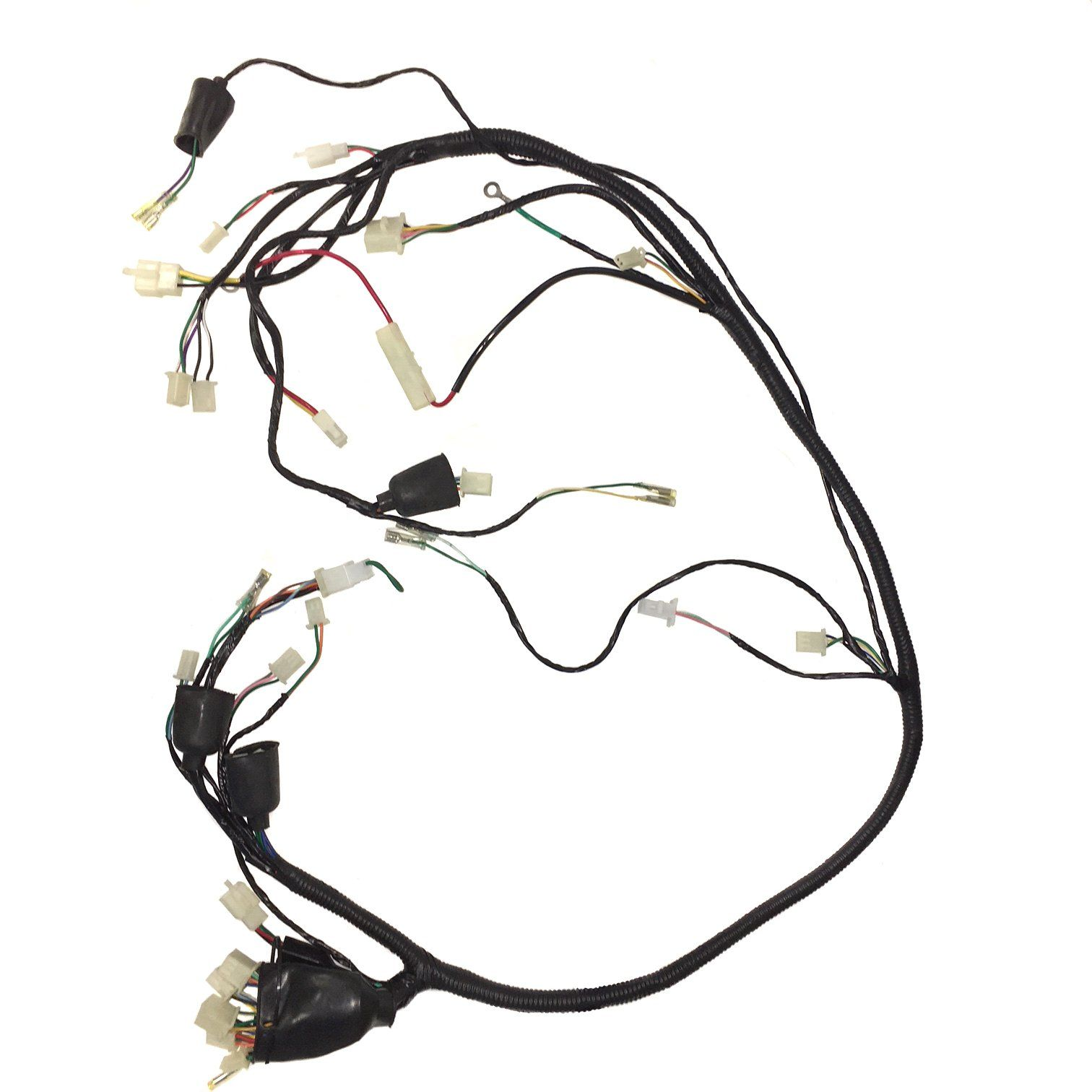 Wiring Harness for Scooter YYZX25019001 250cc Jonway YY250T - VMC Chinese  Parts