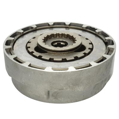 Clutch Assembly - 18 Teeth - 50cc-125cc Semi Auto - Version 3