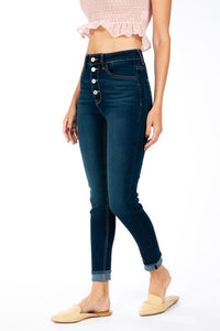 KanCan High Rise Skinny Ankle Jeans 2 - JQ Clothing Co. - Oakes ND