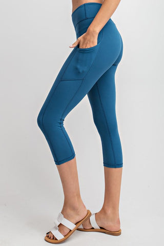 Buttery Soft Crop Legging 1 - JQ Clothing Co. - Oakes, ND