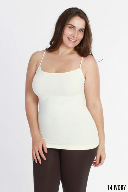 NIKIBIKI Curvy Size Long Camisole 4 - JQ Clothing Co. - Oakes ND