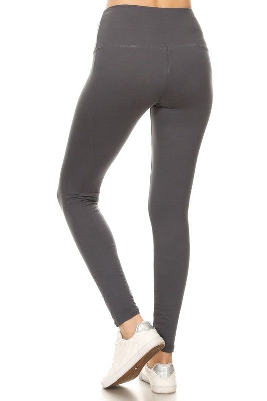High Waist Yoga Banded Leggings 2 - JQ Clothing Co. - Oakes ND