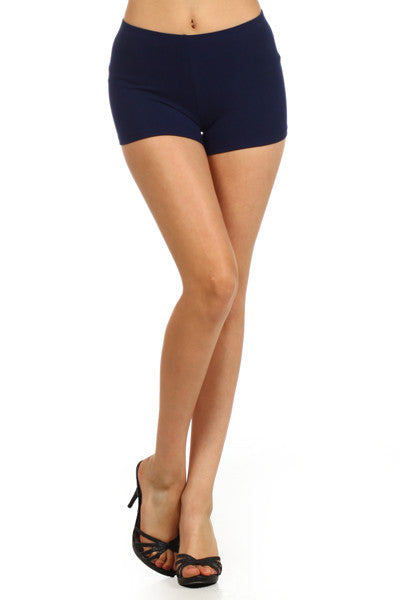 Solid Color Thigh Length Short - The Loft on Main - Oakes ND