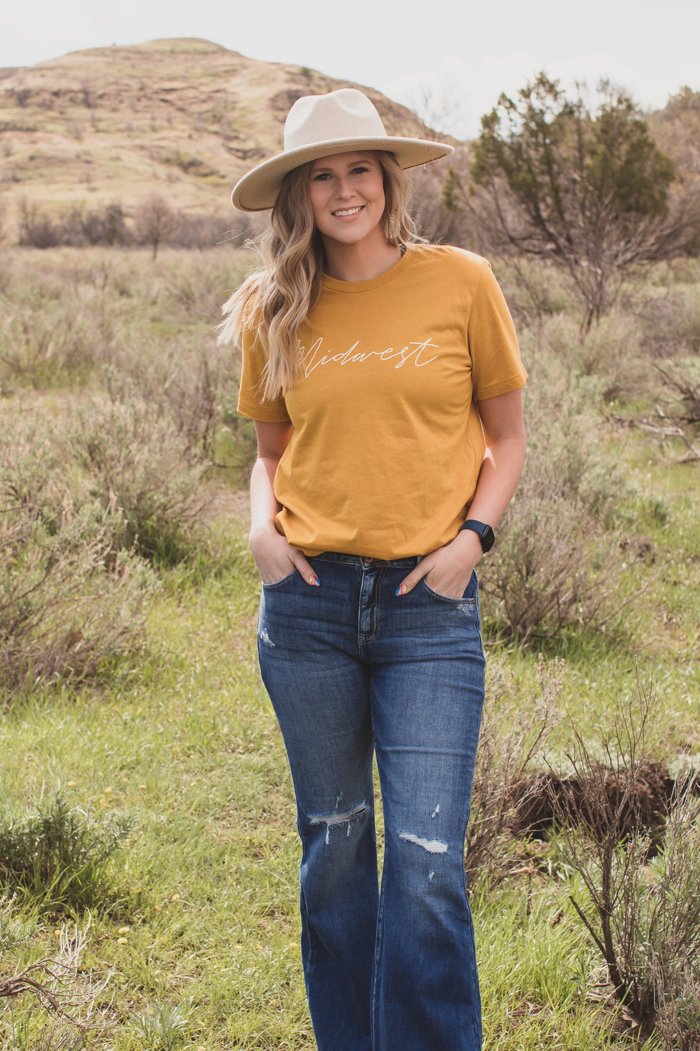 Open Prairie Tiered Dress 4 - JQ Clothing Co. - Oakes, ND