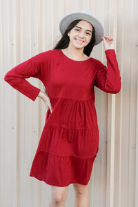 True Love Knit Dress 1 - JQ Clothing Co. - Oakes, ND