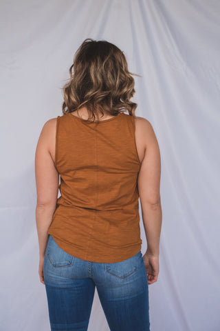 Trendy Tan Sandal 1 - JQ Clothing Co. - Oakes ND
